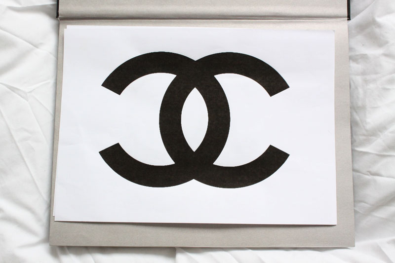 Chanel Logo Shirt Diy 95