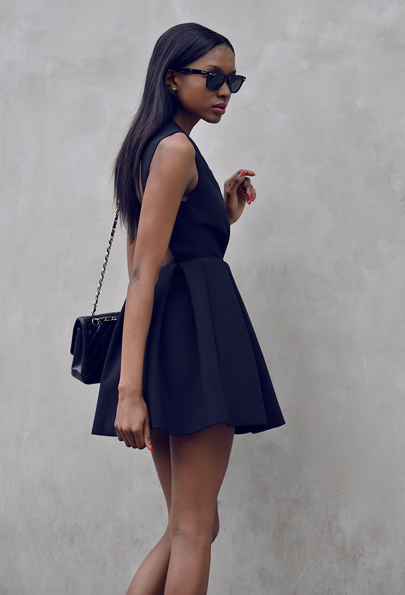 AQ AQ Upper Mini Dress-4