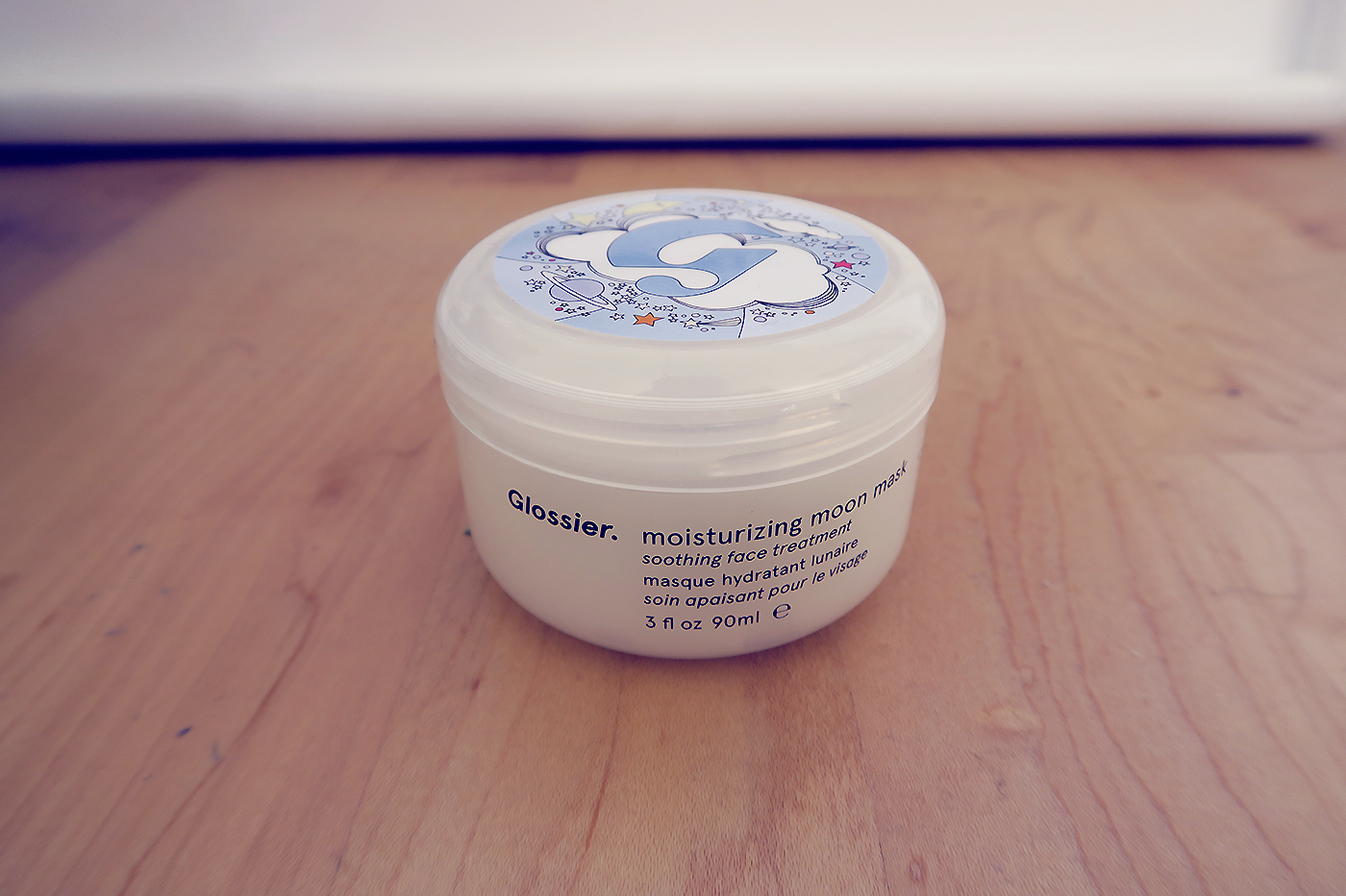 glossier moisturising moon mask