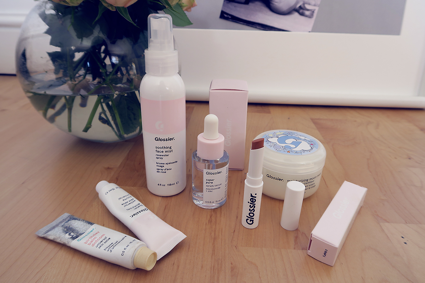 glossier phase one