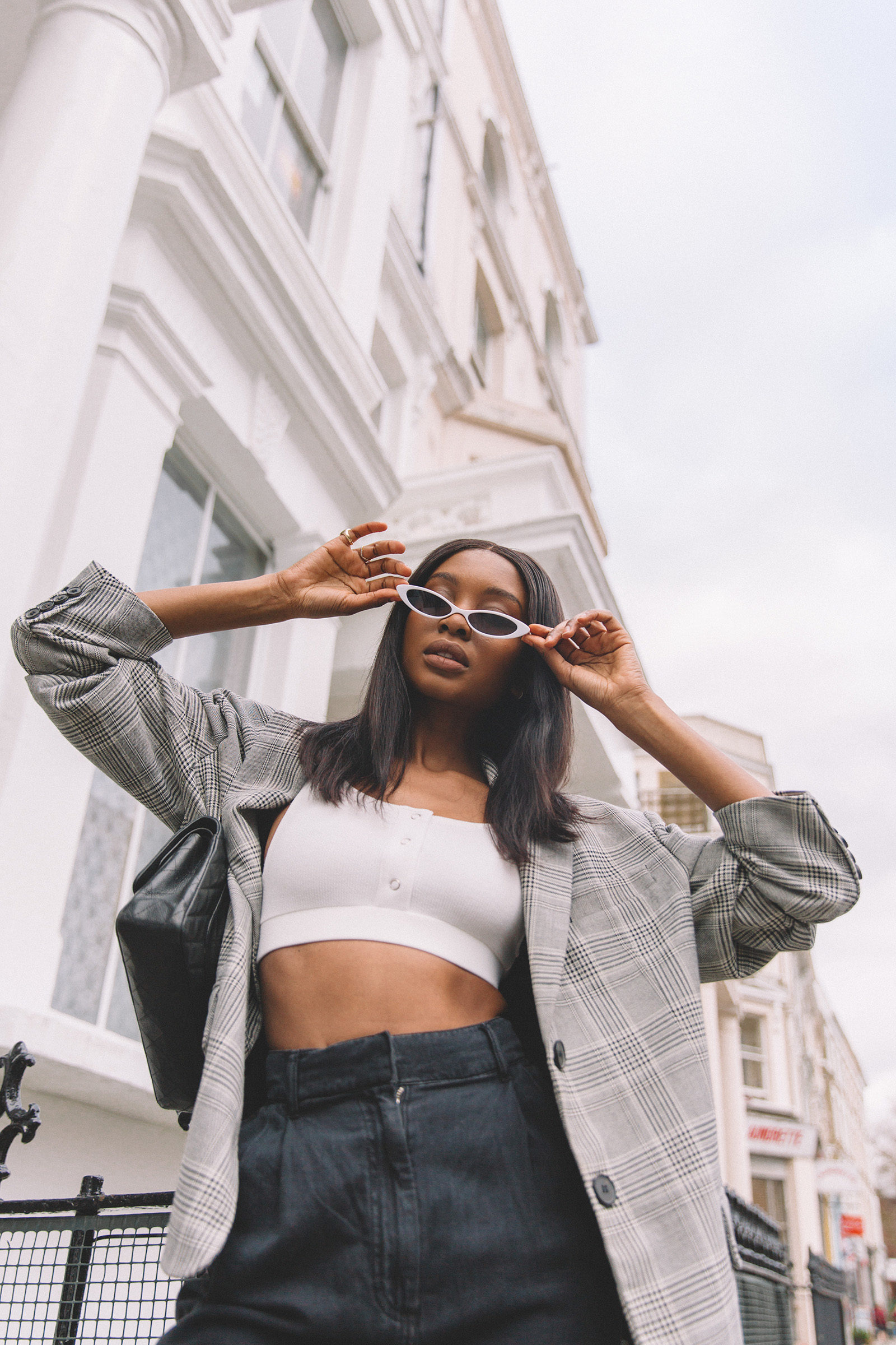 ASOS Small Cat Eye Fashion Glasses - Natasha Ndlovu